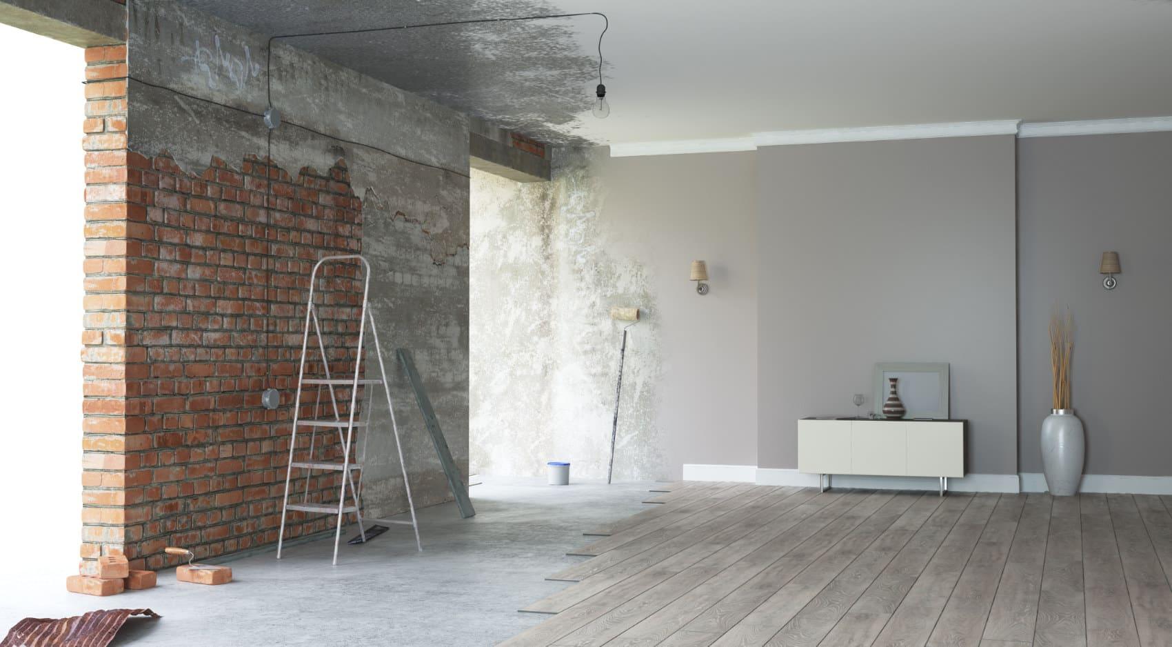 Sanierung einer Wohnung