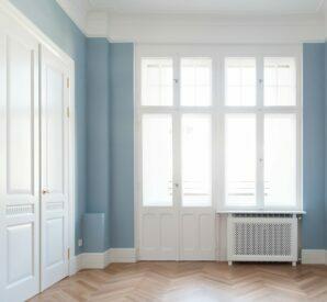 Fenster und türen nach eingehender altbausanierung