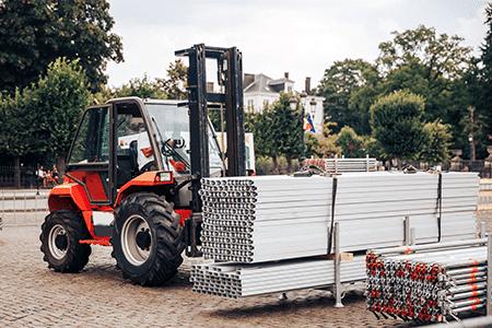 Materiallieferung für sanierung