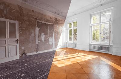 Renovierung einer wohnung vorher nachher